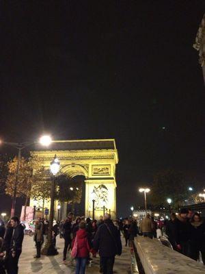 キングクロス駅からパリへ_f0095325_6101045.jpg