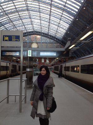 キングクロス駅からパリへ_f0095325_69612.jpg
