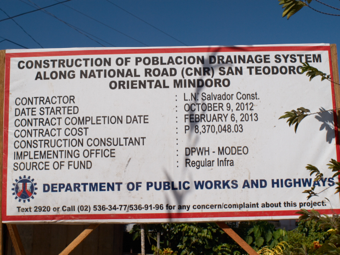 Government provides drainage even before tap water works, why???_e0202828_18203111.jpg