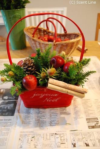 クリスマスのアレンジメント_c0099133_10274944.jpg
