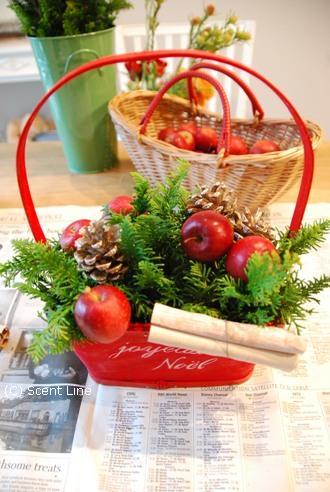 クリスマスのアレンジメント_c0099133_10274992.jpg