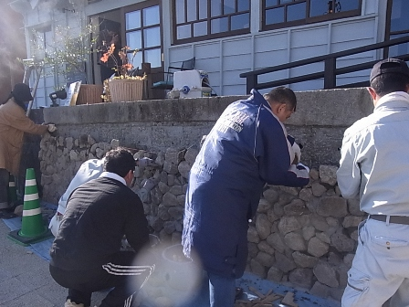 別府石の石積み 5日目_e0251278_1654499.jpg