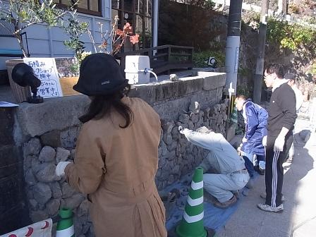 別府石の石積み 5日目_e0251278_1654551.jpg