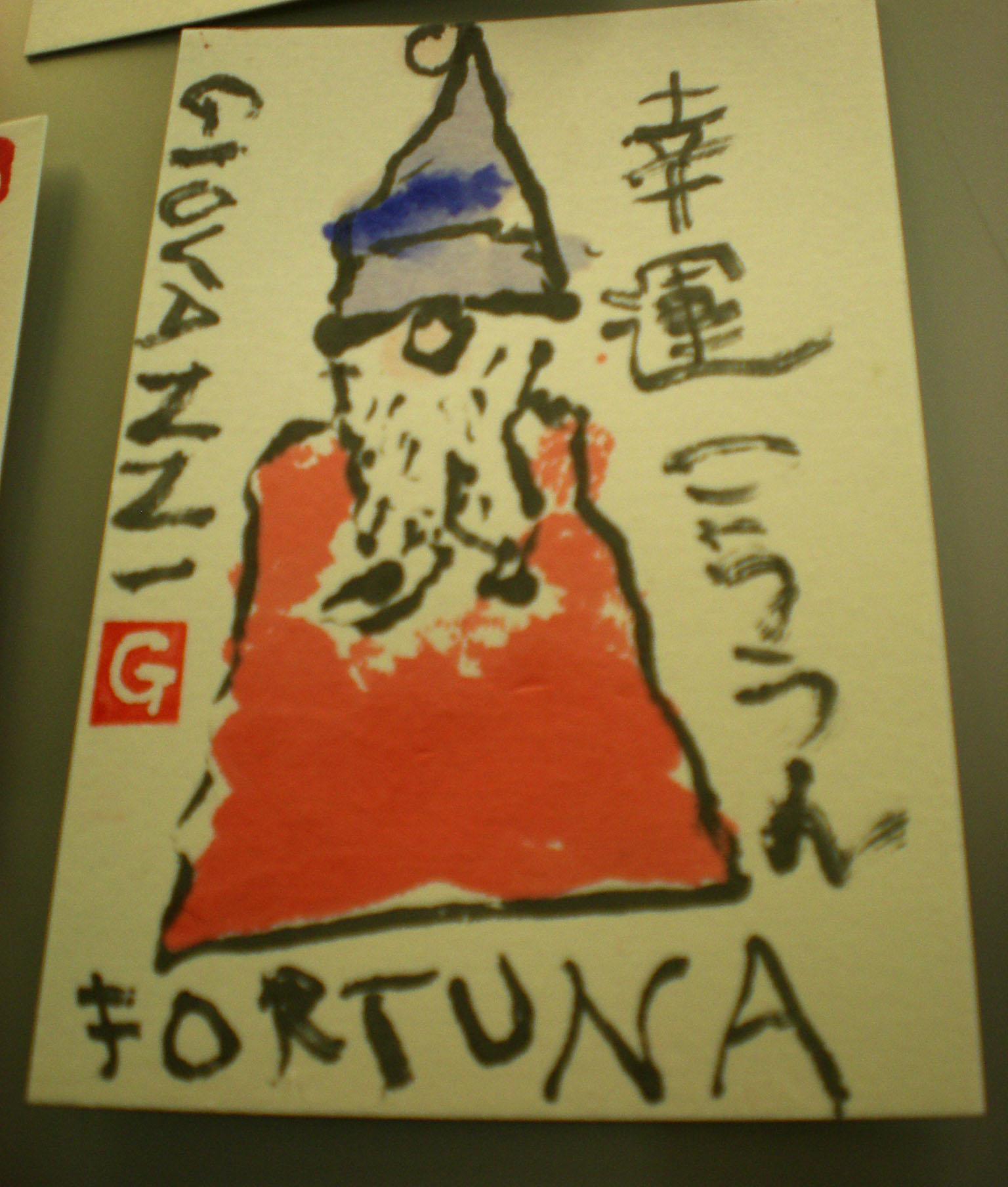 絵手紙という世界を覗いて見ましたーフィレンツェで行われた日本文化展示会_c0179785_6242792.jpg