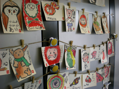 絵手紙という世界を覗いて見ましたーフィレンツェで行われた日本文化展示会_c0179785_6253856.jpg