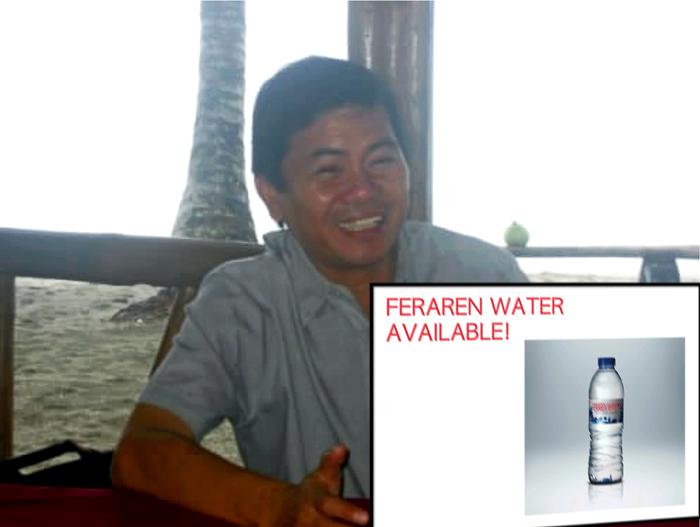 This is not a joke, Tap Water promised Mayor Feraren!_e0202828_7292848.jpg