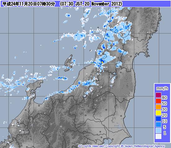 気象庁 降雨 レーダー