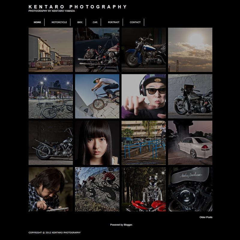 New 「KENTARO PHOTOGRAPHY」_a0148850_1745069.jpg