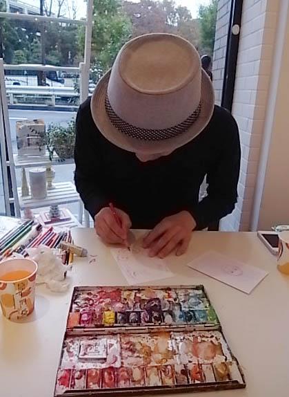 素敵なイベントもりだくさん♪「Galerie ambre (ギャラリーアンバー)」@代々木_b0051666_8105893.jpg