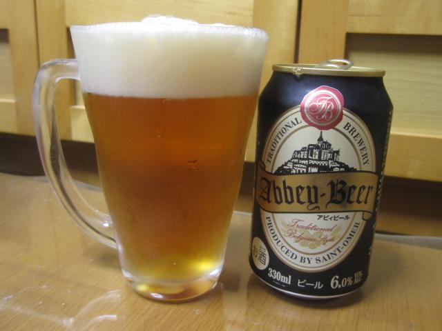 今夜のビールVol.21 アビィビール¥195_b0042308_23252890.jpg
