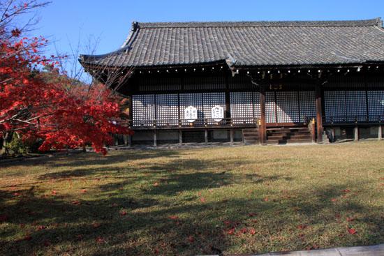 紅葉だより34 勧修寺(かじゅうじ)_e0048413_1902725.jpg