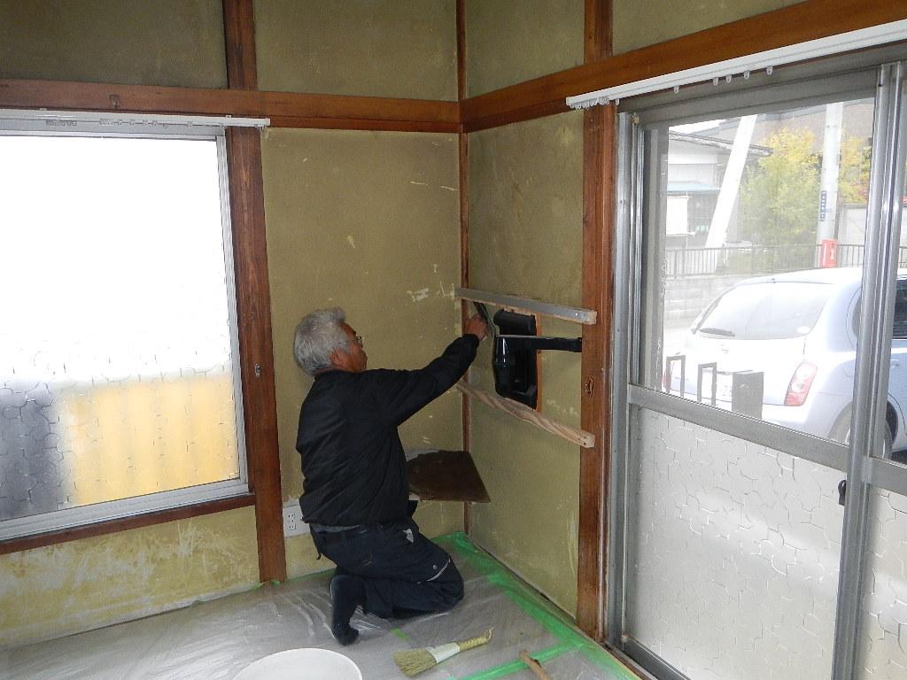 京壁塗り替え_e0243413_18481181.jpg