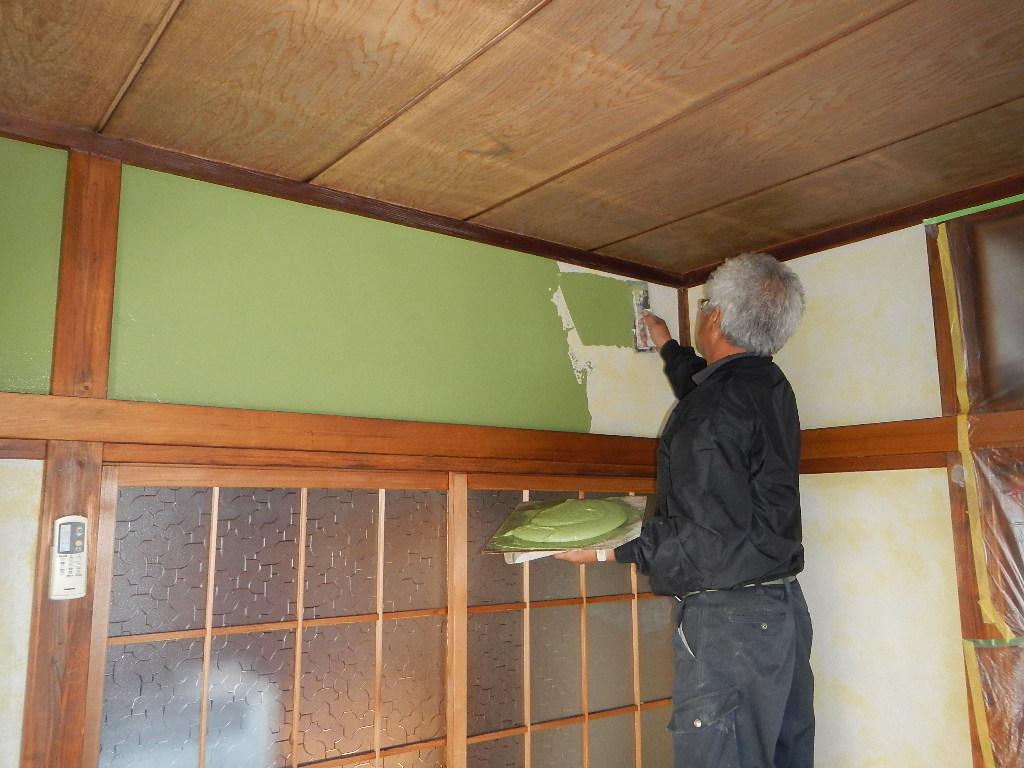 京壁塗り替え_e0243413_1850205.jpg