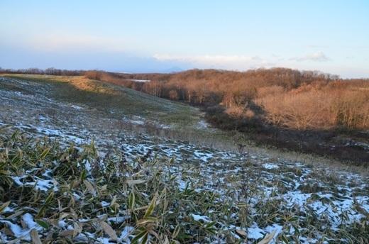 2012年11月21日(水):思いのほか融けない雪[中標津町郷土館]_e0062415_20182240.jpg