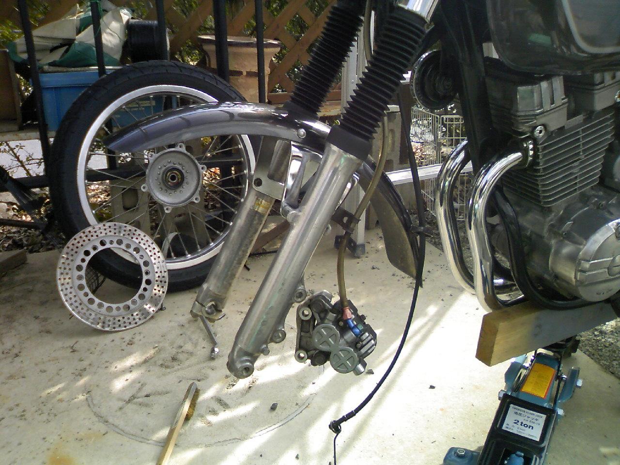 GB250Hクラブマン修理-1_c0261447_23212888.jpg