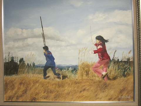 増井吉三油絵展見に行ってきました_c0214750_12564599.jpg