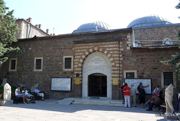 トルコ旅行記 24 アンカラ アナトリア文明博物館_a0092659_2123785.jpg