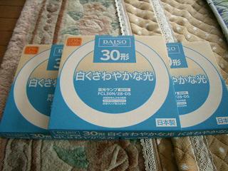 100円ショップで買った蛍光管_a0064474_14555769.jpg
