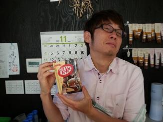Kit Katを♪_f0172281_1203877.jpg