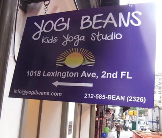 ニューヨークの子ども向けヨガ教室 Yogi Beans _b0007805_0473744.jpg