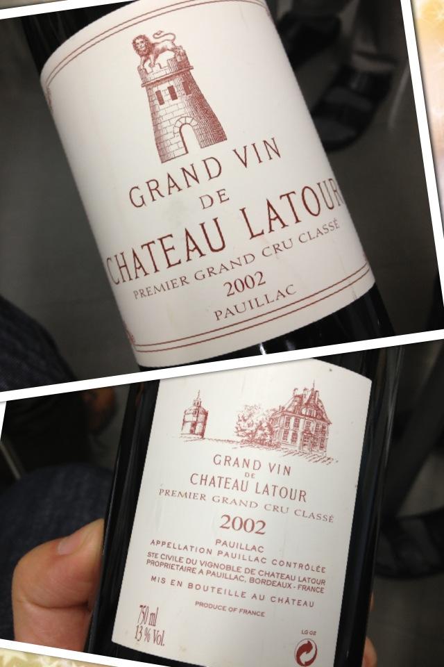 阪神のワイン販売と私的なワイン会 ラトゥ-ル_a0194908_2312126.jpg