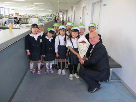 幼稚園児の皆さんありがとう!!_d0130714_20304291.jpg