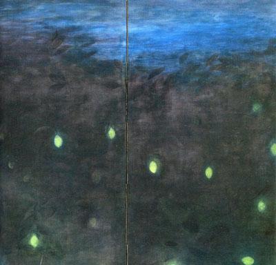 船玉さんこと「船田玉樹」の現代日本画を観た。_e0117514_15212183.jpg