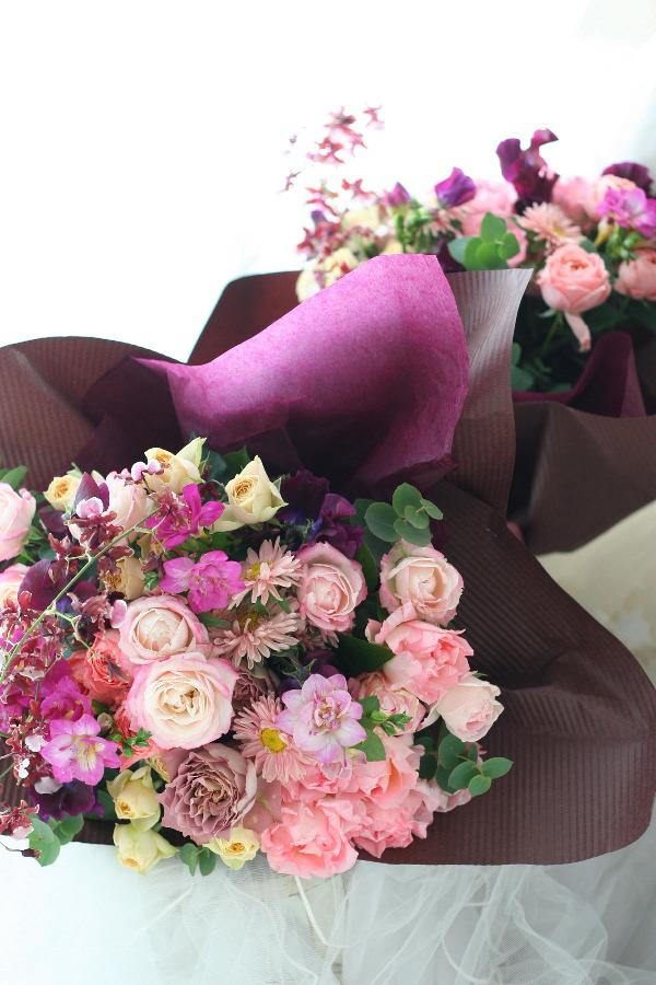 御両親への贈呈用の花_a0042928_18351596.jpg