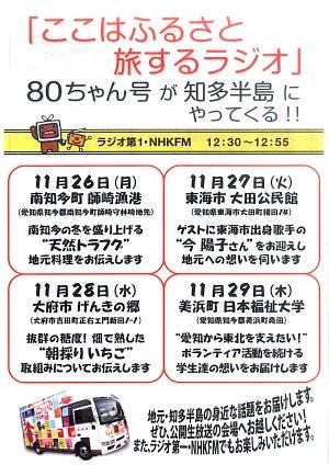 NHKラジオ 「ここはふるさと旅するラジオ」_c0141652_1645188.jpg