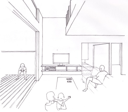 「町屋の家」計画案_f0230666_10242574.jpg
