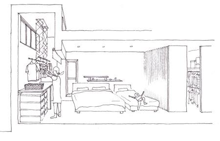 「町屋の家」計画案_f0230666_10254465.jpg