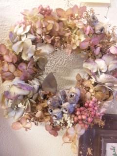 "Berry Bouquet \""お花展""_c0134086_4474852.jpg"