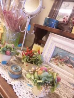 "Berry Bouquet    \""お花展""_c0134086_447527.jpg"