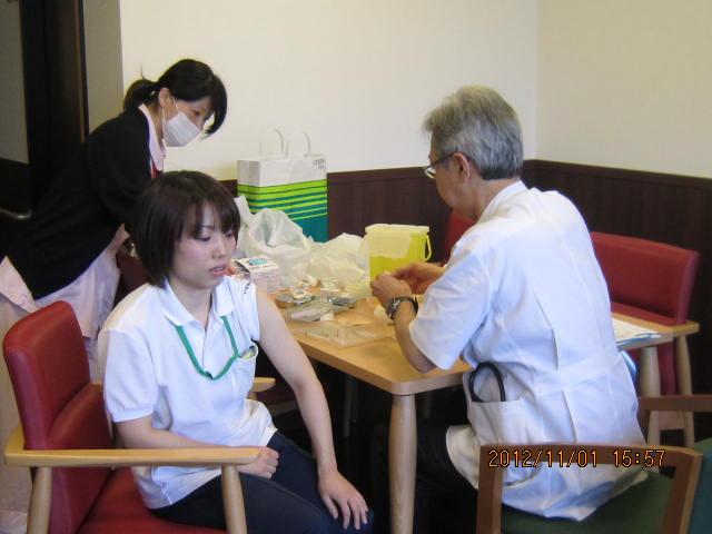 インフルエンザ予防接種_a0158095_16234197.jpg