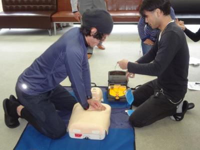 11/22心肺蘇生・AED研修_a0154110_1051865.jpg
