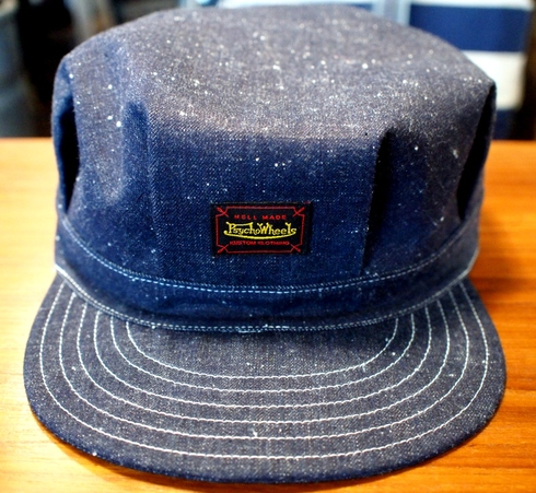 入荷案内 Psycho Wheels WORK CAP_e0254972_1520596.jpg