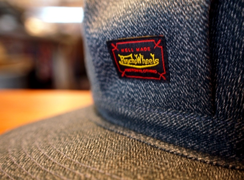 入荷案内 Psycho Wheels WORK CAP_e0254972_15224739.jpg
