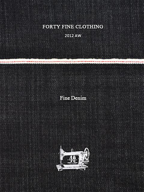 12/26(水)FORTY FINE CLOTHING 2012AWコレクション新作入荷!!!_f0228575_16191556.jpg