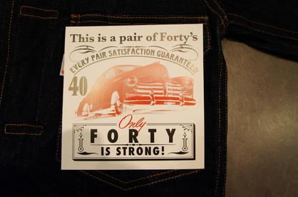 【FORTY FINE CLOTHING】 2012 A/Wコレクションスタート!!_f0228575_16245372.jpg