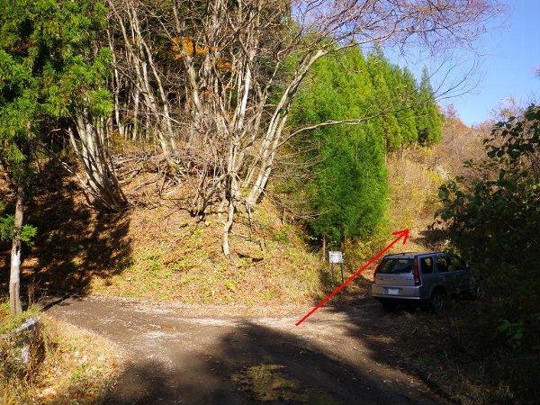 二口山塊の里山を歩く (三森山から桐ノ目山まで) ~ 2012年11月21日_f0170180_15593896.jpg