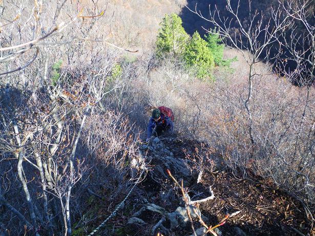 二口山塊の里山を歩く (三森山から桐ノ目山まで) ~ 2012年11月21日_f0170180_19121548.jpg