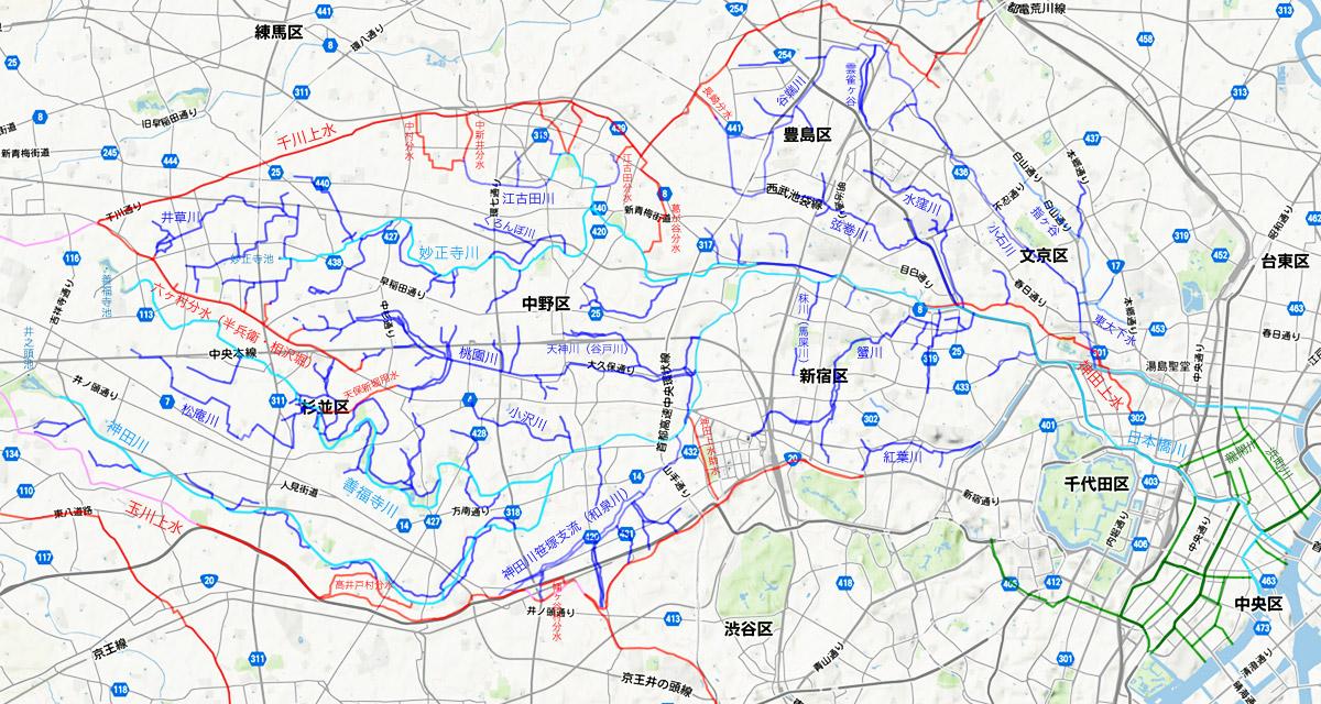 【Bonus Tracks】暗渠本「地形を楽しむ東京「暗渠」散歩」暗渠マップ補完_c0163001_22544063.jpg