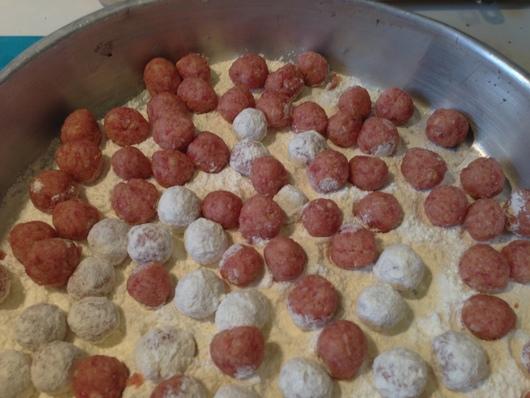 ナポリの郷土料理 サルトゥ・ディ・リーソ_b0107003_1017215.jpg