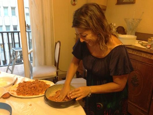 ナポリの郷土料理 サルトゥ・ディ・リーソ_b0107003_10194976.jpg