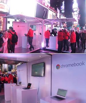 NYのタイムズスクエアで新型クロームブックのキャンペーンに遭遇_b0007805_1331183.jpg