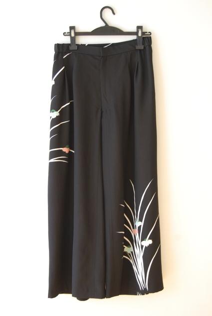 着物リメイク・羽織のパンツ_d0127925_1510765.jpg