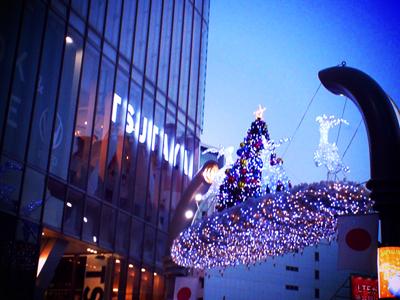 渋谷のクリスマスの飾り_a0275527_2147447.jpg