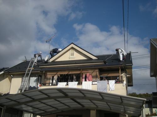 M様邸(佐伯区湯来町伏谷ハーブヒルズ)太陽光発電システム工事_d0125228_7215025.jpg