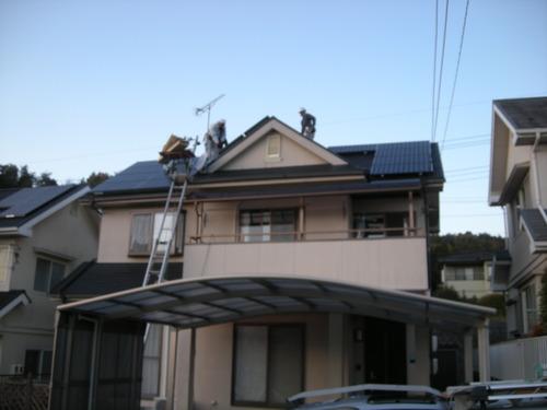 M様邸(佐伯区湯来町伏谷ハーブヒルズ)太陽光発電システム工事_d0125228_7233093.jpg