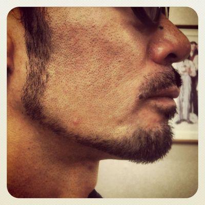 beard style vo.12 『2weeks after』_e0100332_16202290.jpg
